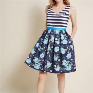Modcloth Intriguing on Arrival Fit & Flare…